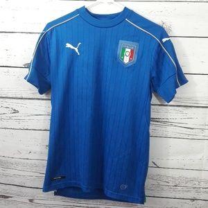 PUMA 2018 2019 Italia home Tradizione sz S jersey